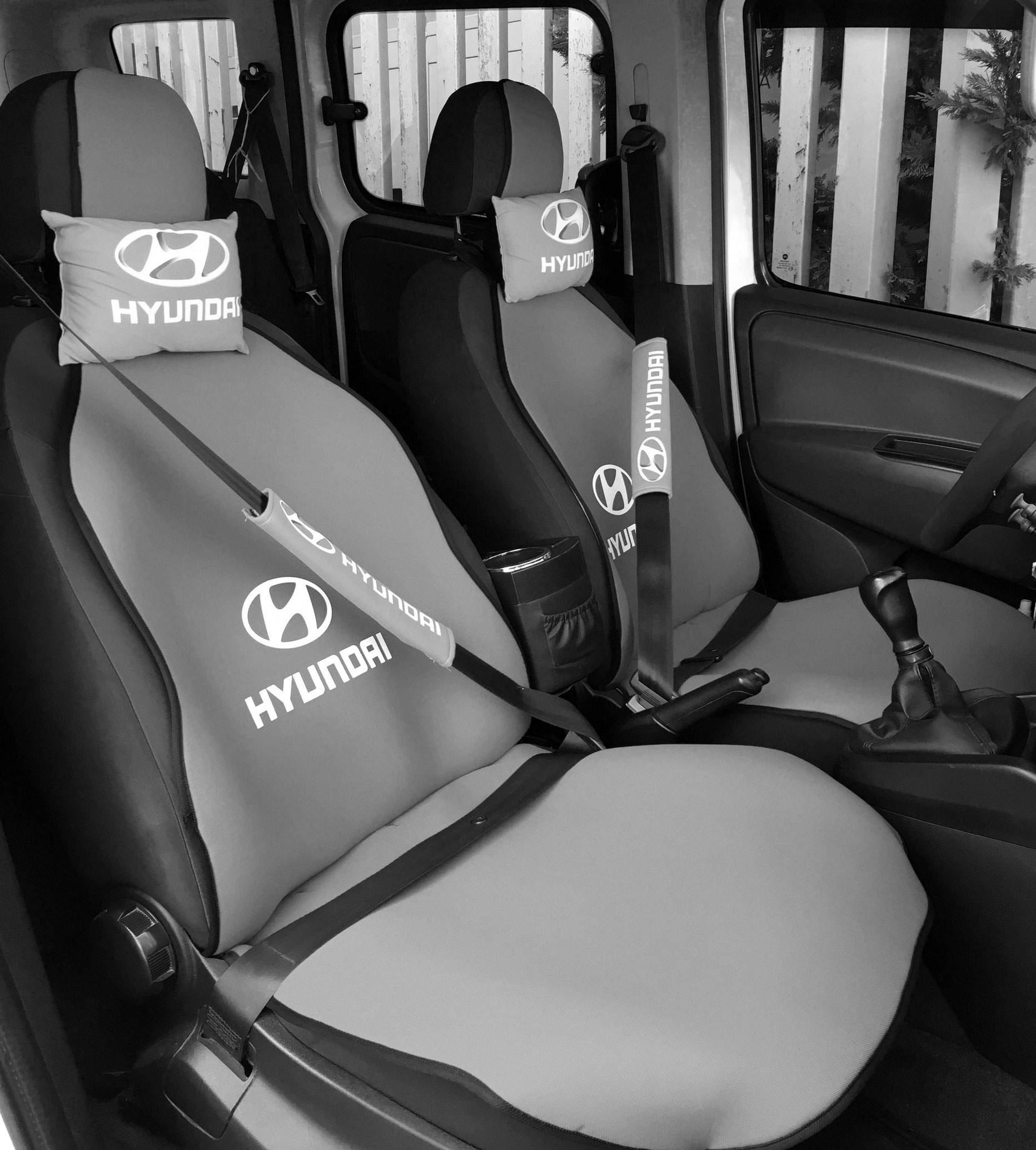 Hyundai Uyumlu Terletmez Oto Koltuk Minderi Ve Yastık Seti