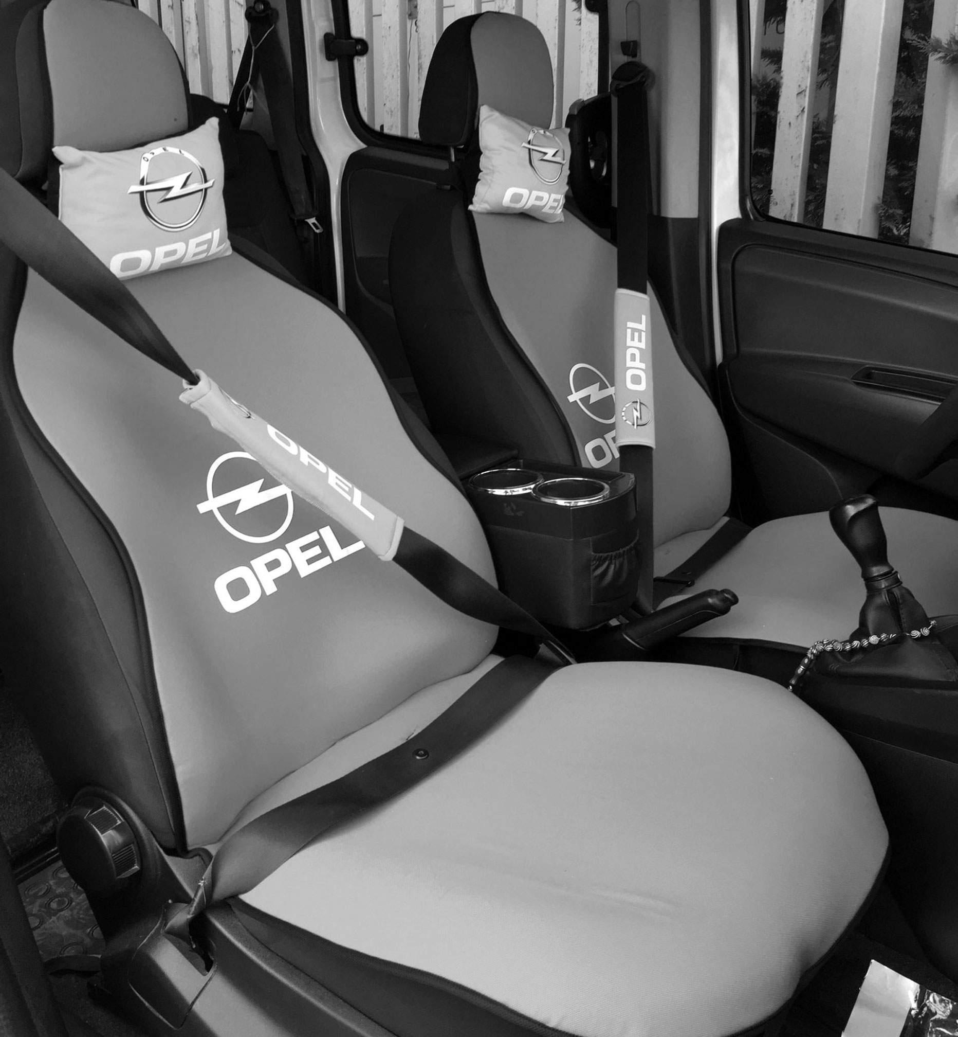 Opel Uyumlu Terletmez Oto Koltuk Minderi Ve Yastık Seti