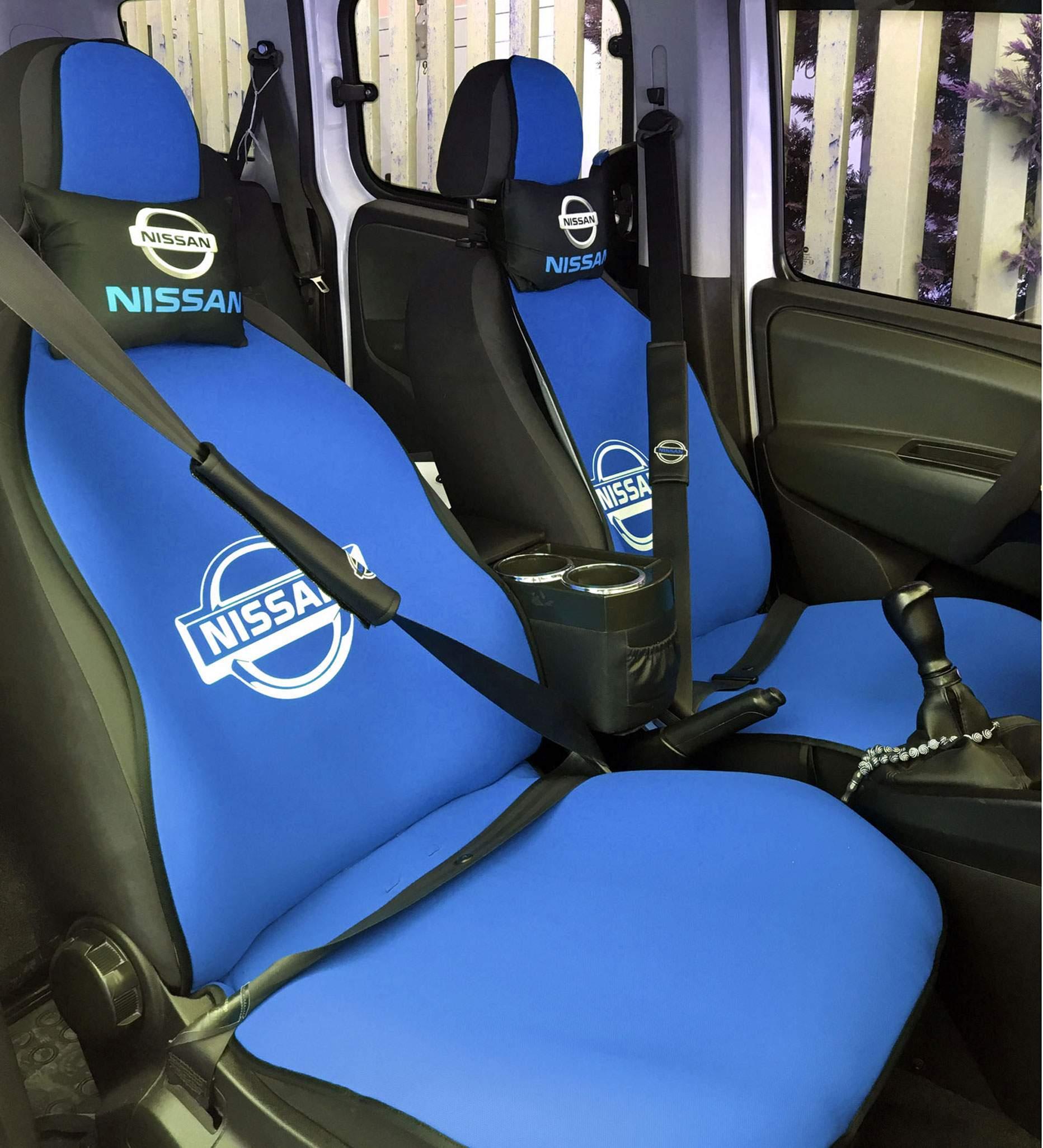 Nissan Uyumlu Terletmez Oto Koltuk Minderi Ve Yastık Seti