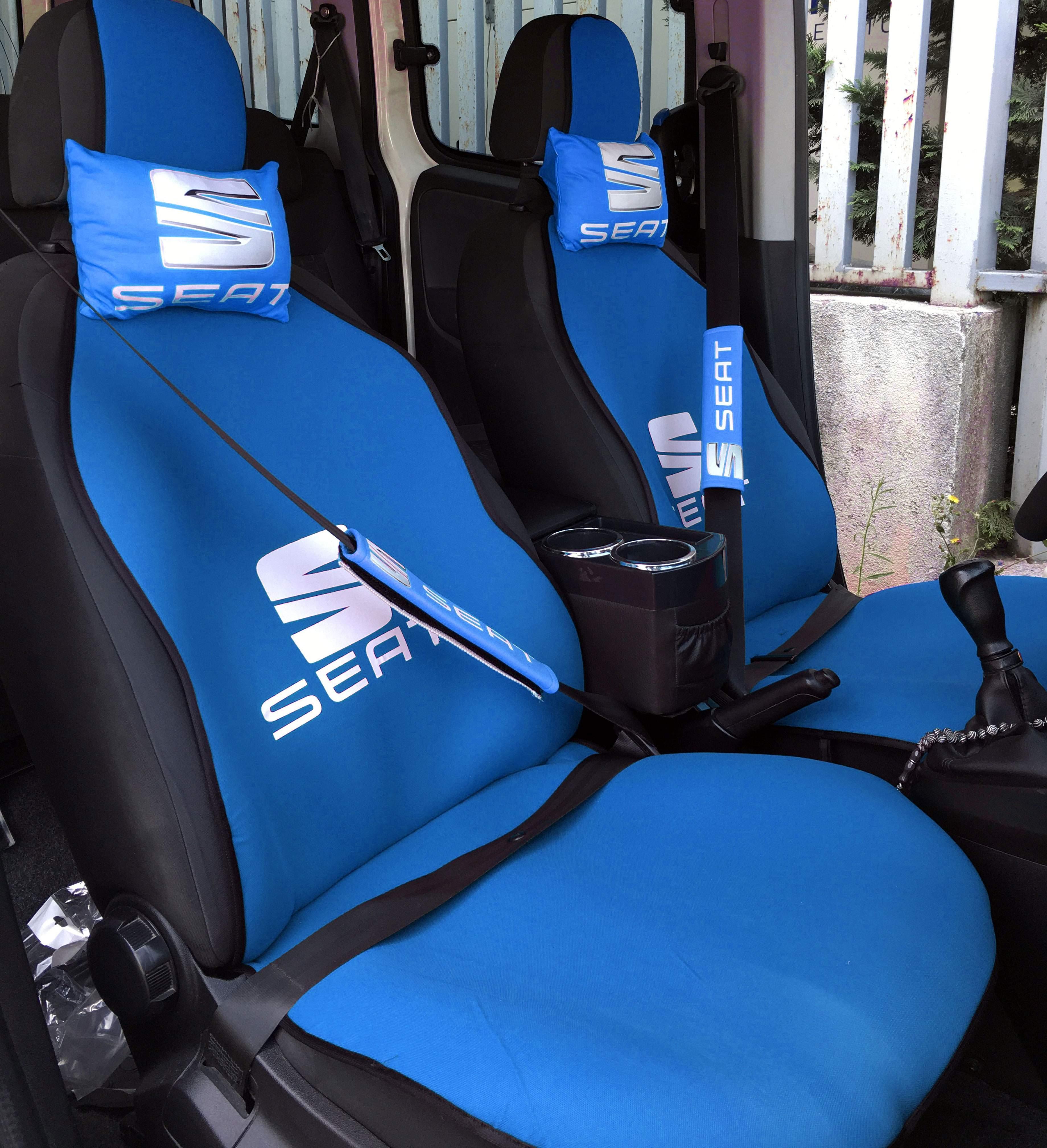 Seat Uyumlu Terletmez Oto Koltuk Minderi Ve Yastık Seti